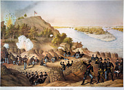 Siege Framed Prints - Siege Of Vicksburg, 1863 Framed Print by Granger