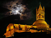 Jim Wright Art - Siena cathedral by Jim Wright