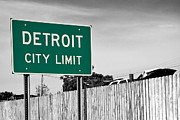Detroit City Prints - Sign Of The Times Print by James Marvin Phelps