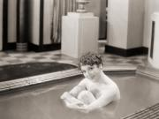 Bathing Photos - Silent Still: Bathtub by Granger