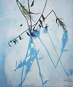 Lin Petershagen Prints - Silent winter Print by Lin Petershagen