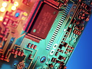 Integrated Posters - Silicon Chip Poster by Tek Image