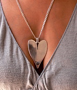 Mexico Jewelry - Silver Heart by Galeria Rossmore