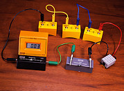 Motor Meter Photos - Simple Electrical Circuit by Andrew Lambert Photography