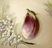 Eggplant Framed Prints - Simplicity Framed Print by Marilyn Hunt