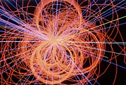 Simulation Photos - Simulation Of Higgs Boson Production by David Parker