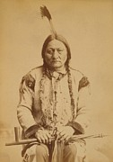 Americans Framed Prints - Sitting Bull 1831-1890, Lakota Sioux Framed Print by Everett