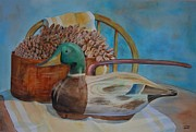 Pine Cones Originals - Sitting Duck by Carol Risko