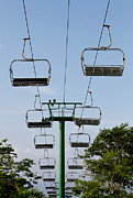 Pleasure Photo Metal Prints - Sky ride Metal Print by Blink Images