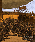 Slave Ship Posters - Slave Ship Poster by Photo Researchers