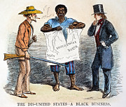 Crisis Posters - Slavery Cartoon, 1856 Poster by Granger