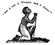 Abolition Photo Framed Prints - Slavery: Woman, 1832 Framed Print by Granger