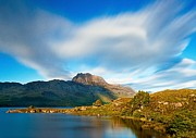 Wester Ross Posters - Slioch across the waters of Loch Maree Poster by Maciej Markiewicz