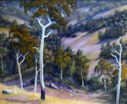 Landscap Reliefs Originals - Sloping Hills by John Cocoris