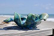 Artwork Ceramics - Small wave bowl by Gibbs Baum