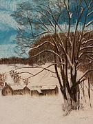 Snow Pastels - Snowed In by Jack Spath