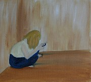 Lonely Paintings - Socialising by Abbie Shores