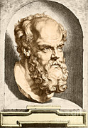Philosophy Art - Socrates, Greek-athenian Philosopher by Science Source