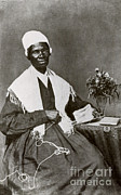 Slavery Framed Prints - Sojourner Truth, African-american Framed Print by Photo Researchers