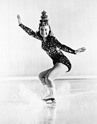 Figure Skating Photos - Sonja Henie (1912-1969) by Granger