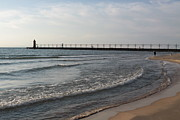 Jim Vansant - South Haven Lighthouse and Breakwater