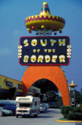 Pralines Posters - South of the Border Poster by Carl Purcell