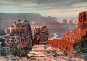 Rim Paintings - South Rim by Donald Maier