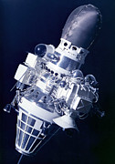 Spacecraft Photos - Soviet Luna 9 Spacecraft by Ria Novosti