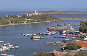 Bulgaria Framed Prints - Sozopol Harbour Framed Print by Tony Murtagh