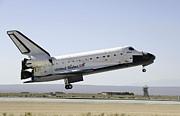 Space Shuttle Atlantis Prepares Print by Stocktrek Images