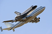 Endeavour Prints - Space Shuttle Endeavour Mounted Print by Stocktrek Images