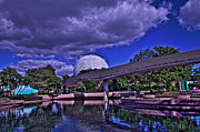 Spaceship Originals - Spaceship Earth HDR by Jason Blalock