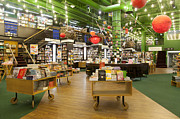 Novels Photos - Spacious Bookstore Interior by Jaak Nilson