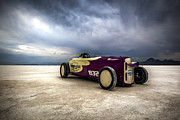 Bonneville Images Prints - Speed Week photography and Images by Holly Martin Print by Holly Martin