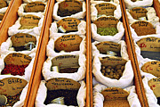 Bag Posters - Spices on the market Poster by Elena Elisseeva