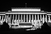 Liverpool Prints - St Georges Hall liverpool merseyside england uk Print by Joe Fox