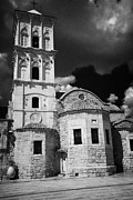 Lazarus Framed Prints - St Lazarus Church with belfry larnaca republic of cyprus europe Framed Print by Joe Fox