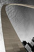 St Louis Missouri Framed Prints - St. Louis Arch Framed Print by Ryan Heffron