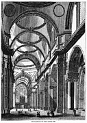 St. Paul's Cathedral, Historical Artwork Print by Middle Temple Library