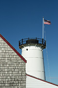 New England Lighthouse Prints - Stage Harbor Lighthouse Print by John Greim
