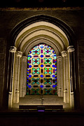 Stained Glass Window Photos - Stained Glass Window in Mezquita by Artur Bogacki