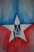 Patriotic Paintings - Star Appeal by Susan Herber