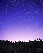 North Thompson Photos - Star Trails by Kaj R. Svensson