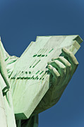 Roman Numeral Prints - Statue Of Liberty Print by Tetra Images
