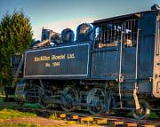 R J Ruppenthal Art - Steam Locomotive 1044 by R J Ruppenthal