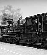 Wv Locomotive Photos - Steamin Away...cough by Steve Harrington