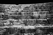 Reconstructed Posters - Steps And Seats Of The Restored Theatre At Kourion Republic Of Cyprus Europe Poster by Joe Fox