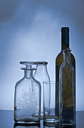 Various Posters - Still life of bottles  Poster by Ilan Amihai