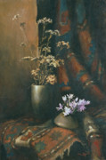 Wild Prints - Still-life with snow drops Print by Tigran Ghulyan