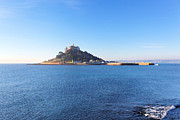St. Michael Prints - St.Michaels Mount Print by Carl Whitfield